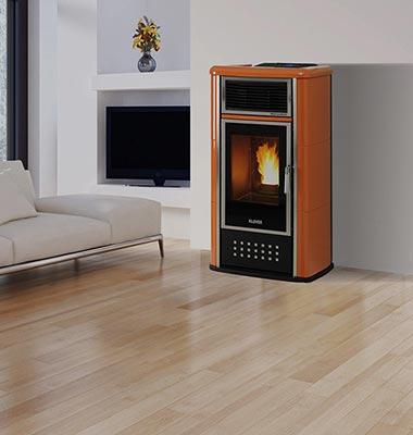 Stufe a pellet riscaldamento domestico casa pi stanze - Detrazioni fiscali stufe a pellet ...